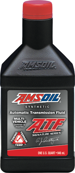 AMSOIL Signature Multi-Vehicle Synthetic Automatic Transmission Fluid