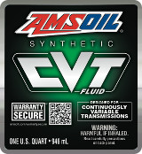 AMSOIL CVT Synthetic Automatic Transmission Fluid