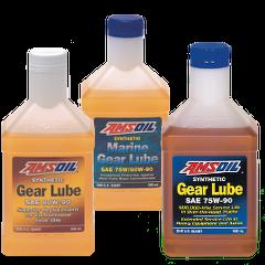 AMSOIL Synthetic Gear Lube, 75W-90 Long Life Gear Lube, 80W-90 Long Life Gear lube, Marine Gear lube (75W-90 / 80W-90)