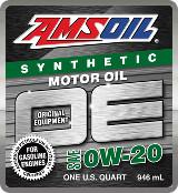 AMSOIL OE 0W-20 synthetic motor oil