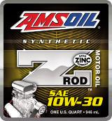 AMSOIL ZROD 10W-30 ZROD synthetic motor oil